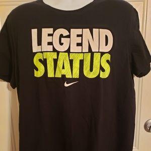 Like New Nike Legend Status Athletic Cut tshirt